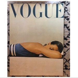 vogue • wood print wall art
